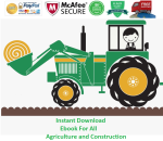 Instant download ebook for all agriculture and Construction